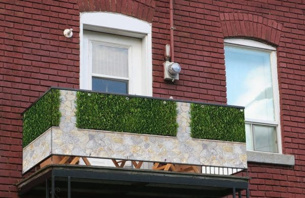 myfence Sichtschutz Alex Anwendung Balkon