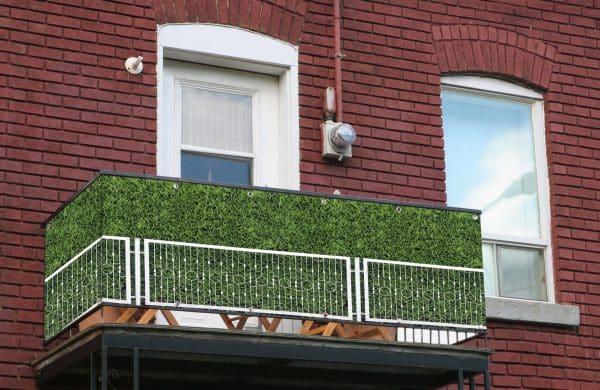 myfence Sichtschutz Grandma Anwendung Balkon