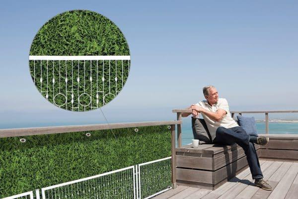 myfence Sichtschutz Grandma Anwendung Terrasse
