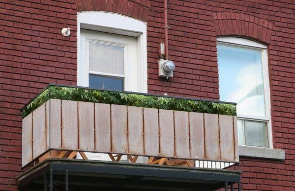 myfence Sichtschutz Max Anwendung Balkon
