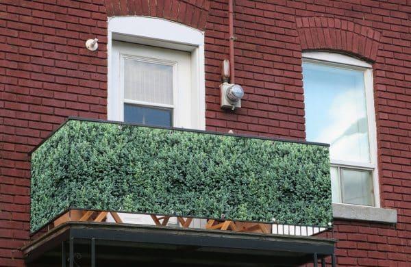 myfence Sichtschutz Buxi Anwendung Balkon