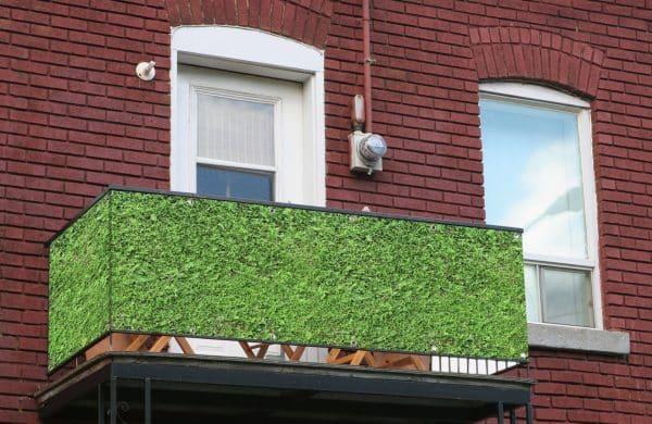 myfence Sichtschutz Tommy Anwendung Balkon