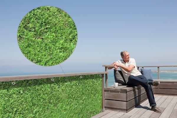myfence Sichtschutz Tommy Anwendung Terrasse