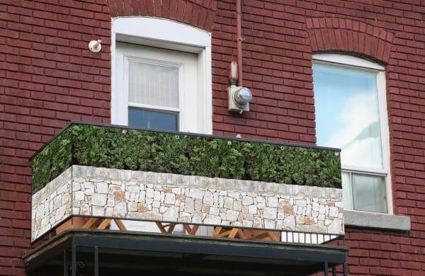 myfence Sichtschutz Olli Anwendung Balkon