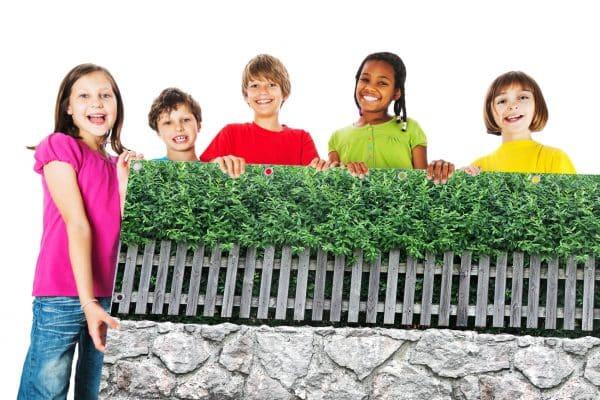 myfence Sichtschutz Symphonie mit Kindern