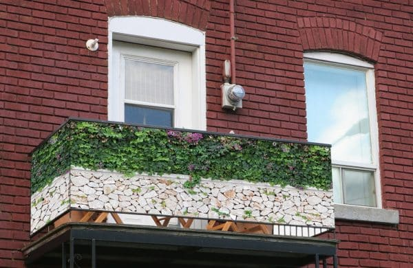 myfence Sichtschutz Wilma Anwendung Balkon