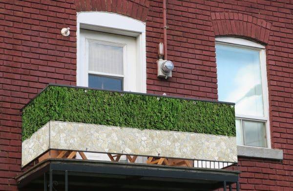 myfence Sichtschutz Zeno Anwendung Balkon
