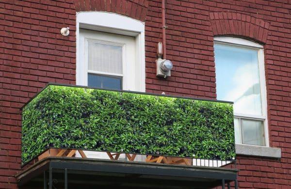 myfence Sichtschutz Lori Anwendung Balkon