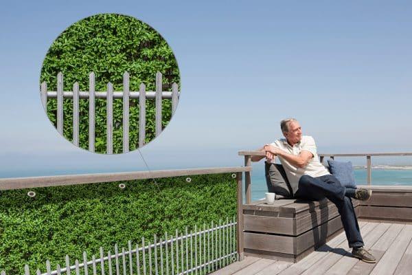 myfence Sichtschutz Edeltraud Anwendung Terrasse