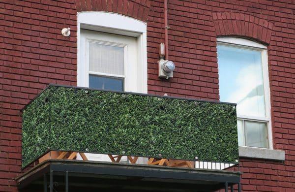 myfence Sichtschutz Tim Anwendung Balkon