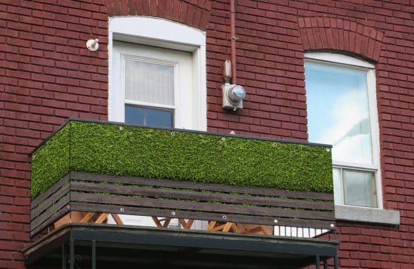 myfence Sichtschutz Hans Anwendung Balkon