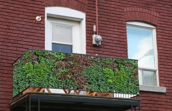 myfence Sichtschutz Mixi Anwendung Balkon