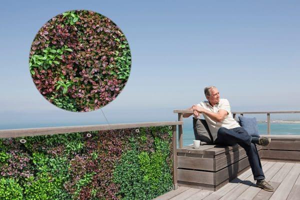 myfence Sichtschutz Mixi Anwendung Terrasse
