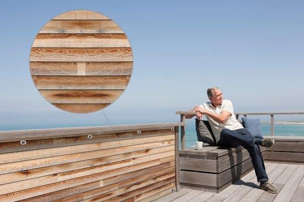myfence Sichtschutz Ben Anwendung Terrasse