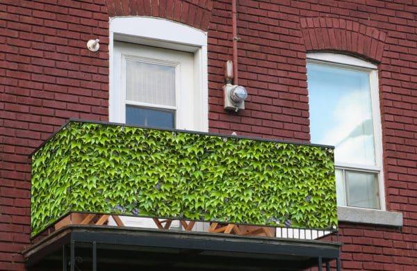 myfence Sichtschutz Vino Anwendung Balkon