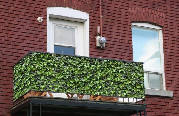 myfence Sichtschutz Edi Anwendung Balkon