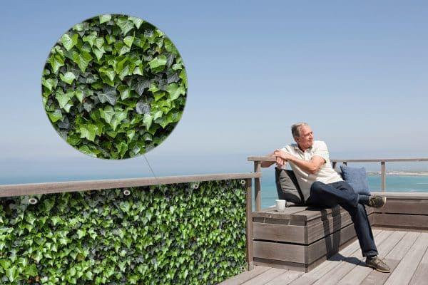 myfence Sichtschutz Edi Anwendung Terrasse