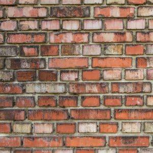 Ziegelmauer Patina