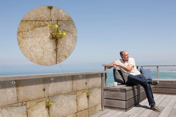 myfence Sichtschutz Sami Anwendung Terrasse