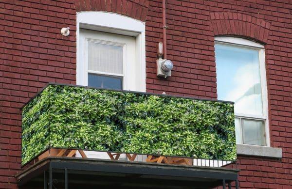 myfence Sichtschutz Fino Anwendung Balkon