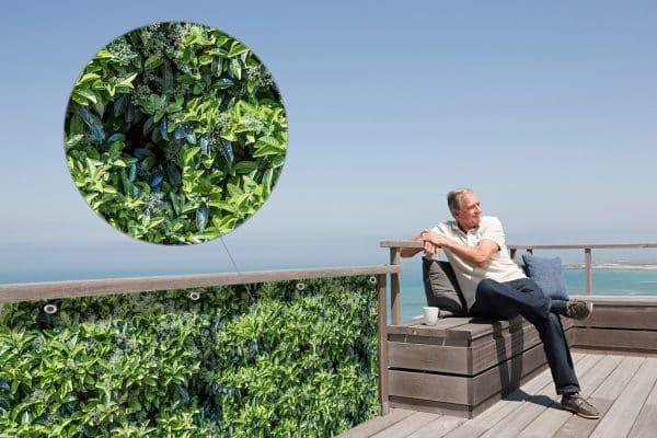 myfence Sichtschutz Fino Anwendung Terrasse