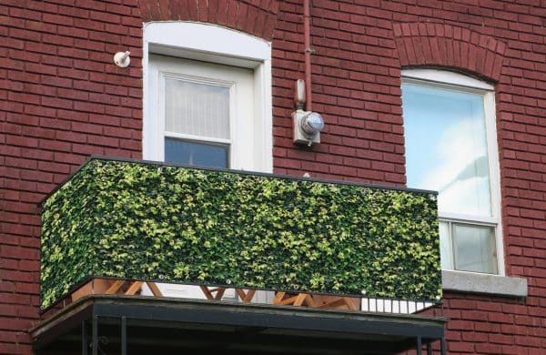 myfence Sichtschutz Koni Anwendung Balkon