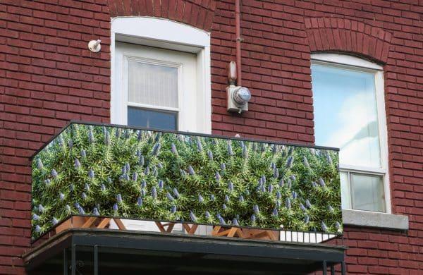 myfence Sichtschutz Trio Anwendung Balkon