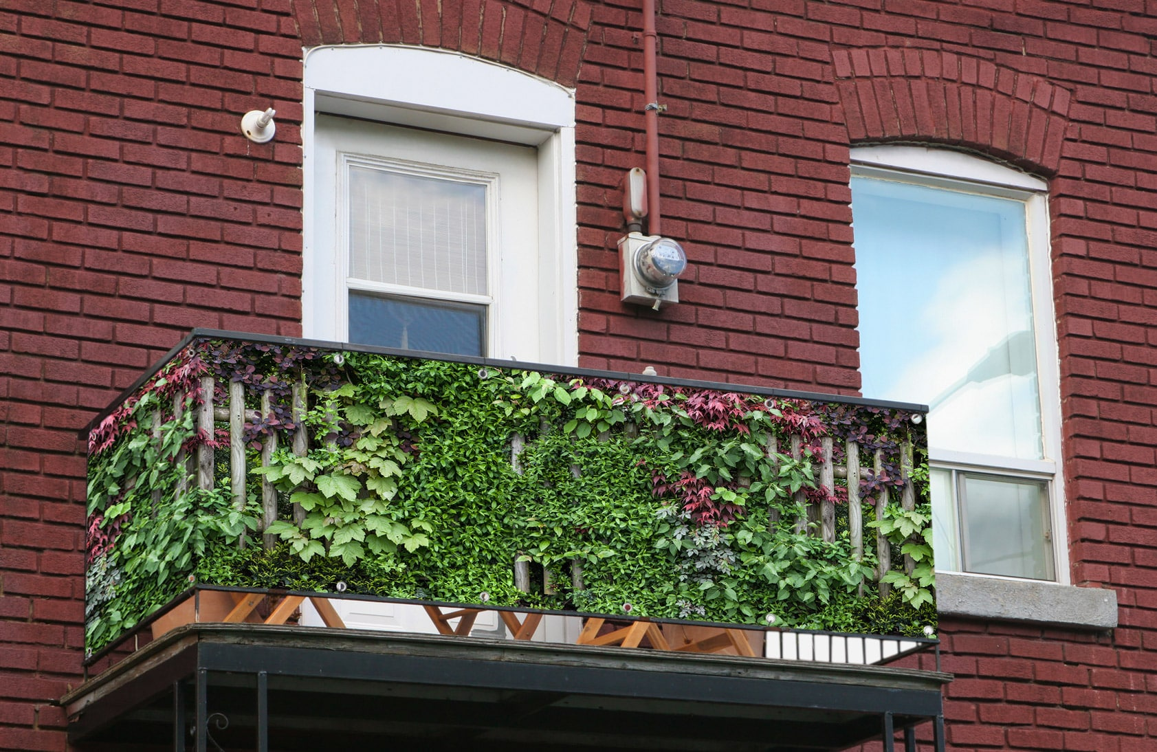 Sichtschutz Am Balkon Balkonsichtschutz Nach Mass