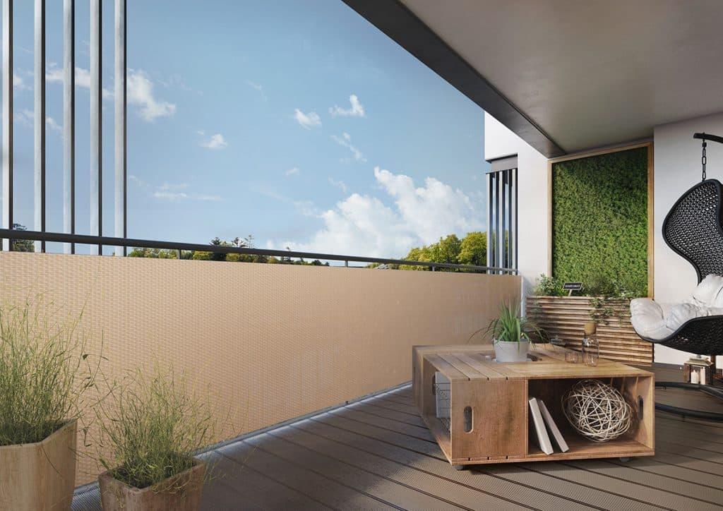 helles-rattan-als-balkonsichtschutz