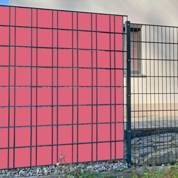Altrose Sichtschutzstreifen myfence Anwendung