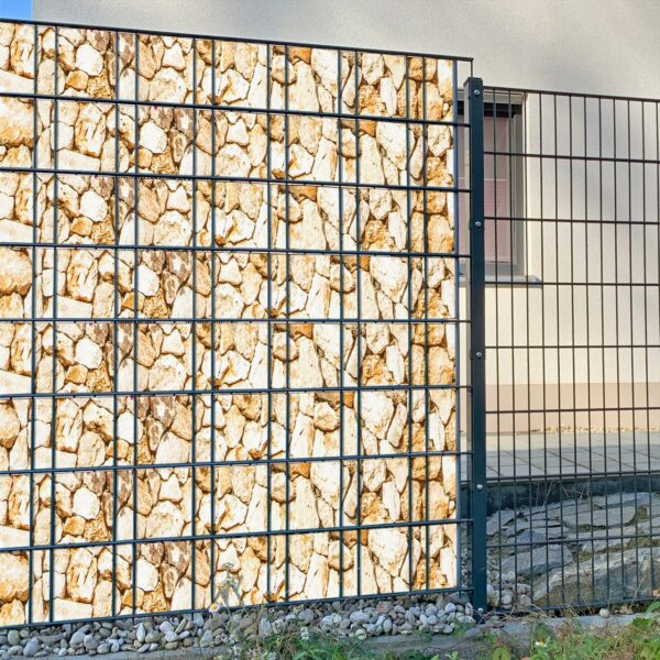 Lucian steinig Sichtschutzstreifen myfence Anwendung