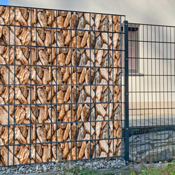 Lupita Sichtschutzstreifen myfence Anwendung