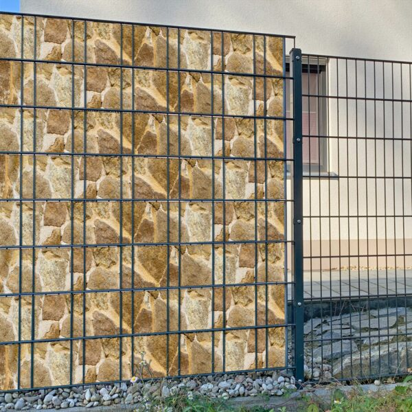 San Marco Sichtschutzstreifen myfence Anwendung