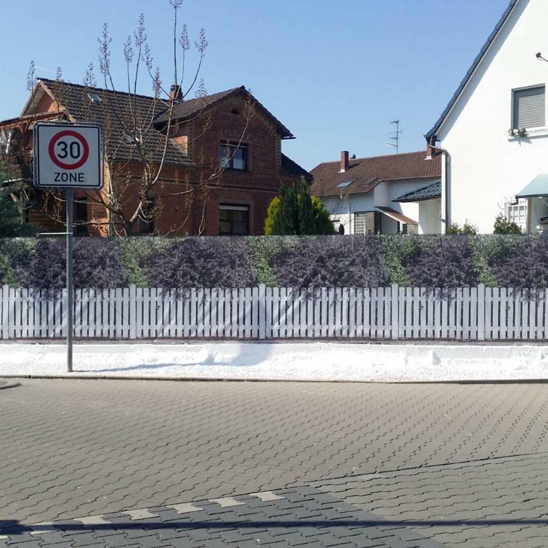 myfence Kundenfoto Sichtschutz Gartenzaun